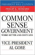 Common Sense Government by Al Gore: NOOK Book Cover