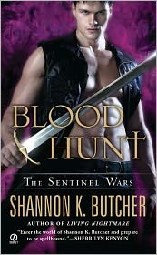 Bloodhunt (Sentinel Wars Series #5) by Shannon K. Butcher: Book Cover
