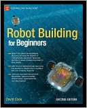 Robot Building for Beginners by David Cook: Book Cover