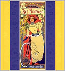 2012 Art Nouveau Wall Calendar by Pomegranate: Calendar Cover