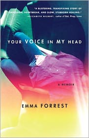 Your Voice in My Head by Emma Forrest: Book Cover