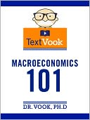 Macroeconomics 101 by Dr. Vook Ph.D and Charles River Editors: NOOK Book Cover