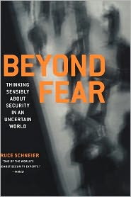 Beyond Fear by Bruce Schneier: Book Cover
