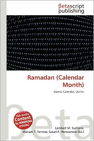 BARNES & NOBLE | Ramadan (Calendar Month) by Lambert M. Surhone ...