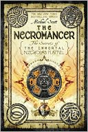 The Necromancer (The Secrets of the Immortal Nicholas Flamel #4) by Michael Scott: Book Cover