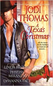 A Texas Christmas by Jodi Thomas: Book Cover