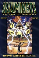 Illuminati: The Game of Conspiracy - Deluxe Edition Card Game by Jackson, Steve Games, Incorporated: Product Image
