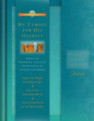 One-Minute Meditations Journal: My Utmost For His Highest