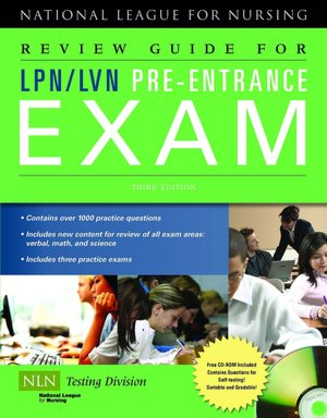 Review Guide for LPN/LVN Pre-Entrance.