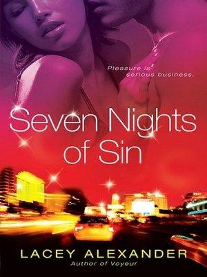 Download ebook free rar Seven Nights of Sin FB2 (English literature)