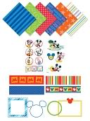 "Disney Mickey Page Kit 8""X8"" by EK Success: Product Image"