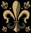 Bling Stickers-Fleur de Lis by Jolees: Product Image