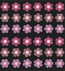 Bling Stickers-Pink Mini Flowers by Jolees: Product Image
