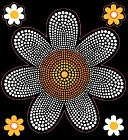 Bling Stickers-Daisy by Jolees: Product Image
