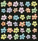 Bling Stickers-Baby Mini Flowers by Jolees: Product Image