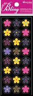 Bling Stickers-Floral Repeats by Jolees: Product Image