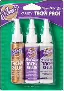 Aleene's Try Me Size Tacky Packs .66 Ounce 3/Pkg-Original, Fast Grab &amp; Quick Dry by Duncan: Product Image