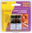Candy &amp; Baking Flavoring .125 Ounce Bottle 2/Pkg-Maple by Lorann Oils: Product Image