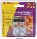 Candy &amp; Baking Flavoring .125 Ounce Bottle 2/Pkg-Pina Colada by Lorann Oils: Product Image