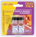 Candy &amp; Baking Flavoring .125 Ounce Bottle 2/Pkg-Key Lime by Lorann Oils: Product Image