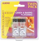 Candy &amp; Baking Flavoring .125 Ounce Bottle 2/Pkg-Almond by Lorann Oils: Product Image