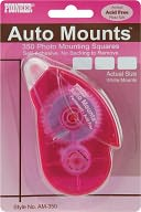 Auto Mounts Photo Mounting Squares Roller Permanent-350/Pkg by Pioneer: Product Image