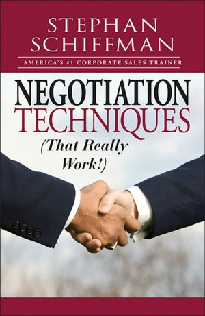 Negotiation Techniques That Really Work! cover