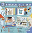 "Finished In A Flash Page Kit 12""X12""-At The Beach by Hot Off The Press: Product Image"