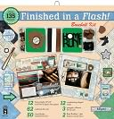 "Finished In A Flash Page Kit 12""X12""-Baseball by Hot Off The Press: Product Image"