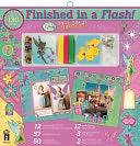 "Finished In A Flash Page Kit 12""X12""-Disney Tinker Bell by Hot Off The Press: Product Image"