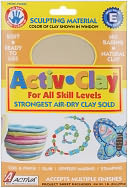 Activ-Clay Air Dry 1 Pound-White by Activa: Product Image