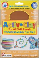 Activ-Clay Air Dry 1 Pound-Terra Cotta by Activa: Product Image