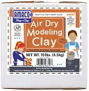 Air Dry Modeling Clay 10 Pounds-Terra Cotta by AMACO: Product Image