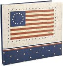 "American Flag Postbound Album 12""X12"" by MBI: Product Image"