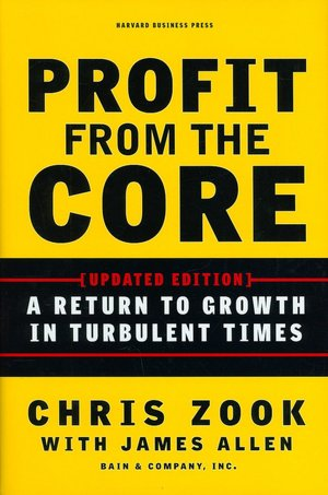 Free torrent download books Profit from the Core: A Return to Growth in Turbulent Times English version 9781422131114 by Chris Zook