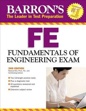 Book downloader google Barron's FE: Fundamentals of Engineering Exam by Ph.D., Mas Olia Masoud
