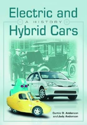 Electric and Hybrid Cars A History cover