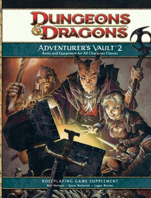 Adventurer's Vault 2: A 4th Edition D&D Supplement