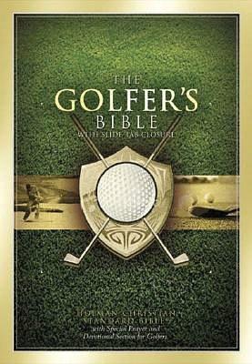 The Golfer's Bible: Holman Christian Standard Bible (HCSB), British Tan Bonded Leather