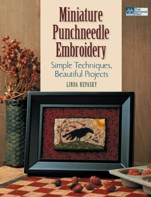 Miniature Punch Needle Embroidery - How-to Instructions ffrom Folk
