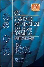 Standard Mathematical Tables and Formulae