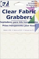 Clear Fabric Grabbers-25/Pkg by Wrights: Product Image