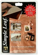 Simple Leaf Leafing Sheets 5.5&quot;X5.5&quot; 18/Pkg-Copper by Speedball Art Products: Product Image