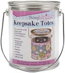 "Keepsake Totes Clear Paint Can 4""X5"" by Darice: Product Image"