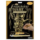 Gold Foil Engraving Art Kit 8&quot;X10&quot;-Giraffe by Royal Brush: Product Image