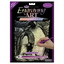 Holographic Engraving Art Kit 8&quot;X10&quot;-Emperor Penguins by Royal Brush: Product Image