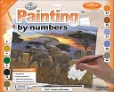 "Junior Large Paint By Number Kit 15-1/4""X11-1/4""-Sunset On Kilimanjaro by Royal Brush: Product Image"