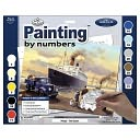 Adult Paint By Number Kit 15-3/8&quot;X11-1/4&quot;-Queen Departs by Royal Brush: Product Image