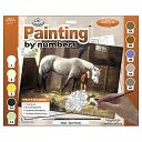 Adult Paint By Number Kit 15-3/8&quot;X11-1/4&quot;-New Friends by Royal Brush: Product Image