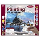 Adult Paint By Number Kit 15-3/8&quot;X11-1/4&quot;-Winter Magic by Royal Brush: Product Image